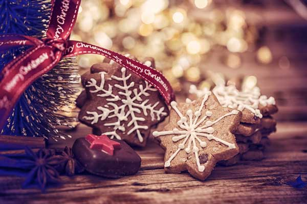 Weihnachtes-Plätzchen