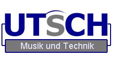 Logo utsch - Musik und Technik